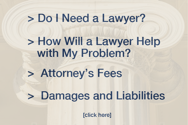 Do I need a lawyer? List of FAQ's