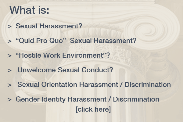 Harassment in the Workplace FAQ's