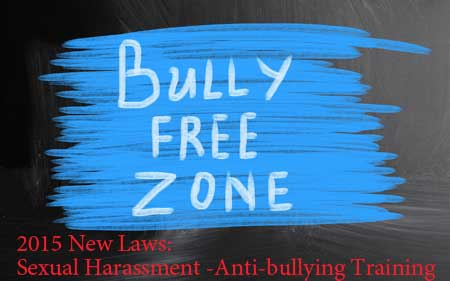 2015 Sexual Harassment Anti-bullying training