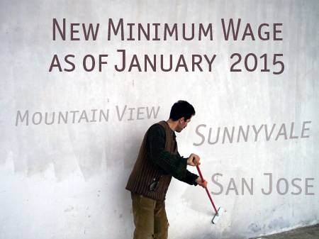 New Minimum Wage as of January 1, 2015