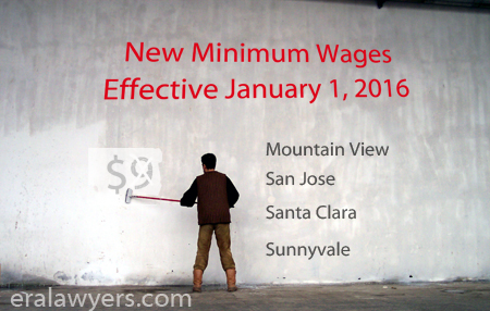 New Minimum Wages Effective January 1, 2016
