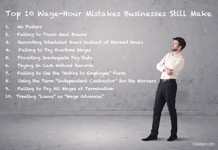 Top 10 Wage-Hour Mistakes Businesses Still Make